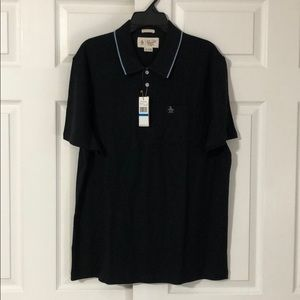 Men's New With Tags Penguin Black Polo XL